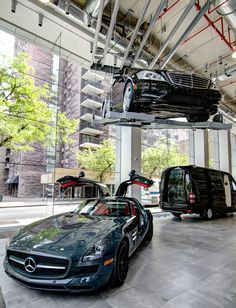 sls amg s550 and sprinter grand edition at mercedes benz manhattan. Cars Review. Best American Auto & Cars Review