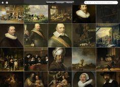 Het Rijksmuseum Amsterdam behuist beeldende kunst bestaande uit schilderijen, beeldhouwkunst, tekeningen, foto's en Aziatische kunst. Deze collectie is nu beschikbaar in de App Store. Ontdek, deel en bekijk de werken van Nederlandse meesters zoals Rembrandt en Vermeer.
