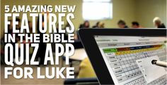 The NPH Youth Bible Quizzing app for iOS and Android is back! Covering the Gospel of Luke , the app returns with all of your favorite features: Memory Verses : Listed in verse order and. Bible Quiz, Gospel Of Luke, Memory Verse, Verses, Ios, Youth, Android, Teen, Memories