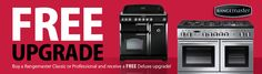 Here at Sonic Direct we have an amazing offer to bring you from Rangemaster.  When you purchase either a Classic or Professional Plus range cooker before the 4th September you will receive an upgrade to the Classic Deluxe or Professional Deluxe totally free of charge. Additional features on deluxe models include: multifunction oven, wok cradle on dual fuel models, plus a glide-out grill & griddle.