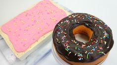 Breakfast POP TART DONUT Cakes - CAKE STYLE JORD WATCHES GIVEAWAY
