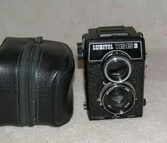 LUBITEL 166V Russian soviet medium camera Rare Twin Lens 6x6 #Lomo
