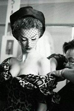 Vintage Christian Dior, 1950s.