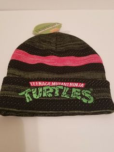 31f6a34ba49 Hats · Teenage mutant ninja turtles Knit Beanie Cap  fashion  clothing   shoes  accessories