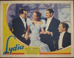 Lydia (1941) Merle Oberon, Alan Marshall, Joseph Cotton