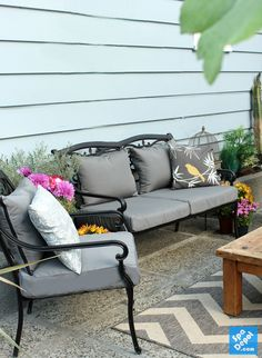 Marvelous Outdoor Foam Seats U0026 Cushions   Waterproof Foam For Furniture (Foam  Resource For Outdoor Seating) | Ma Maison | Pinterest | Furniture Foam,  Seat Cushions ...
