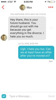 Online dating message starters