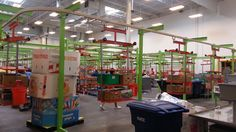 The Houston Food Bank is the nation's largest-size Feeding America food bank, operating in an impressive 308,000 square foot facility.
