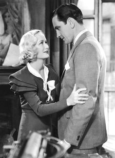 Fredric March and Miriam Hopkins in Design for Living