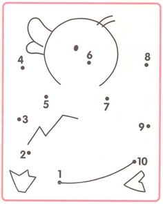 Crafts,Actvities and Worksheets for Preschool,Toddler and Kindergarten.Free printables and activity pages for free.Lots of worksheets and coloring pages. Preschool Writing, Numbers Preschool, Preschool Learning Activities, Teaching Kids, Kids Learning, Printable Preschool Worksheets, Kindergarten Math Worksheets, Worksheets For Kids, Number Worksheets