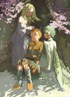 Image in Nanatsu no taizai collection by White Manga Anime, Bts Anime, Anime Art, Seven Deadly Sins Anime, 7 Deadly Sins, Nisekoi, Chibi, Shin Nana, Ban And Elaine