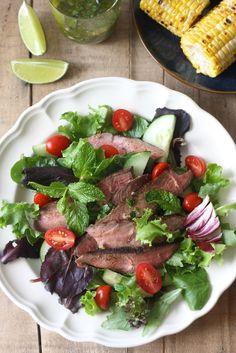Thai Grilled Steak with Thai BBQ Seasoning by SeasonWithSpice.com