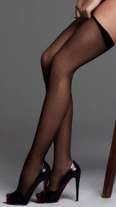Legs Stockings And Heels
