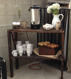 27 DIY Coffee Station Ideas for Your Mood Buzz (How to Make Your Own) - Hochzeit - Coffee