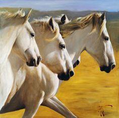 ta_which | Horses by Vladimir Mukhin
