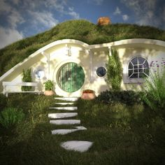 not just a hobbit house, a clever modern house