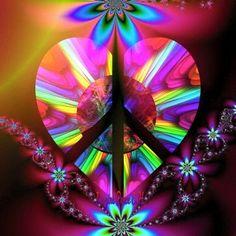 Photo by chessycampwjph Hippie Peace, Hippie Love, Hippie Art, Trippy Wallpaper, Wallpaper Backgrounds, Wallpapers, Iphone Wallpaper, Peace Love Happiness, Peace And Love