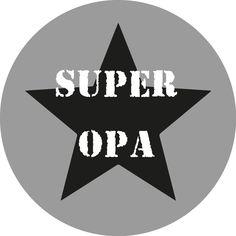 #muurcirkel #opa #superhero #kleinkinderen #liefde #vaderdag #thuisbezorgd #kado #gifts Atari Logo, Indoor Outdoor, Logos, Poster, Embroidery, Logo, Billboard, Inside Outside