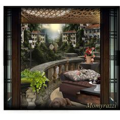 "3rd Place http://www.polyvore.com/cgi/set?id=133347048 ""A Balcony"" by momyrazzi on Polyvore"
