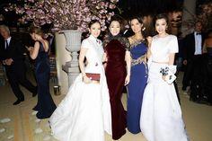 Zhang Ziyi, Gong Li, Wendi Murdoch, and Li Bingbing