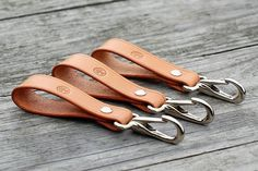 Leather beltloop/keychain in natural veg tan. Solid chromed brass hardware.  This combination is timeless classic!  If you are interested there is few available on the etsy store .    #key #keychain #keyfob #carkeyholder #beltloop #leatherwork #leathergoods #fineleathergoods #luxuryleathergoods #classyleather #handmade #personalized #bespoke #edc #everydaycarry #carlovers #driver #caraccessories #manstuff #menaccessories #mensstyle #manwithclass #manwithstyle #mensfashion #gentelman…