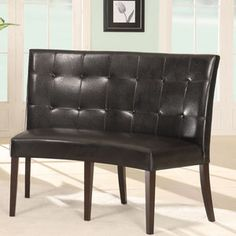 Modus Furniture Bossa Leatherette Bench