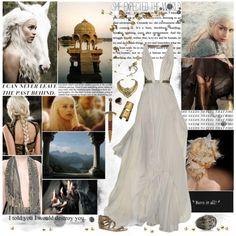 """Daenerys Targaryen"" by cyanideteaparty on Polyvore"