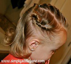 Simply Sadie Jane – 22 MORE fun and creative TODDLER HAIRSTYLES!!
