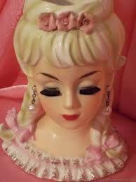 Image result for vintage head vases