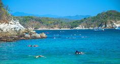 Each bay in Huatulco is it's own secret private paradise - This is one of the best kept secrets in travel