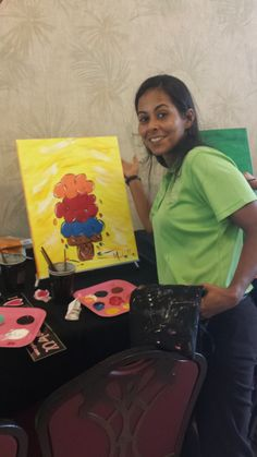 The Fab Fun Team at Sheraton Vistana Resort.. Paint with us in Orlando