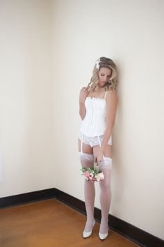 Allure Studio | Photography | Balsam Lake, WI | Boudoir | Wedding | White | Flowers |