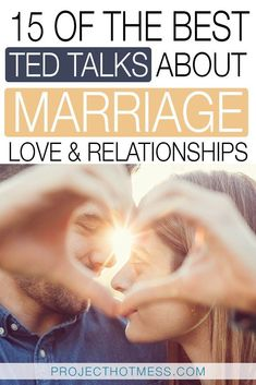 There's a TED Talk to cover just about every topic so of course I turned to TED Talks about marriage to find out more about marriage relationships love and everything in between. These are some of the best TED Talks I found each bringing something un Troubled Relationship, Long Lasting Relationship, Marriage Relationship, Relationships Love, Healthy Relationships, Talk About Marriage, Happy Marriage, Marriage Advice, Love And Marriage