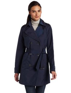 Cole Haan Women's Travel City Packable Trench