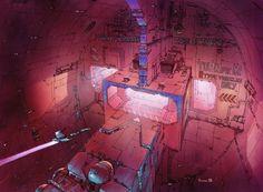 The Fifth Element: 40 Original Concept Art Gallery - Daily Art, Movie Art Environment Concept Art, Environment Design, Classic Sci Fi Movies, Conceptual Sketches, Concept Art Gallery, Dark Drawings, Fifth Element, Animation Background, Retro Futurism