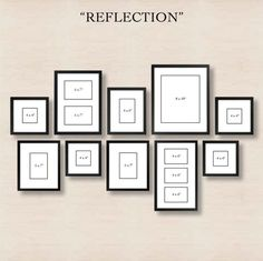 Architecture How To Create A Gallery Wall Pottery Barn For Picture Arrangements On Walls Ideas Plan 14 Organisation Des Photos, Organization, Images Murales, Photowall Ideas, Gallery Wall Layout, Gallery Walls, Photo Wall Layout, Art Gallery, Photo Gallery Hallway