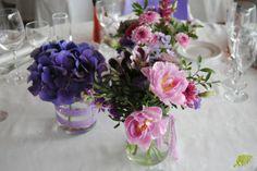 Decoración flores finca Sansui Zaragoza. Mayula Flores