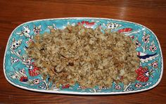 Mujadara ~ frugal Middle-eastern comfort food