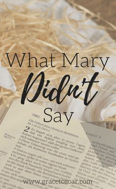 What would you say if God suddenly changed the course of your life? Check out this blog post about surrendering to God's plan. Mary set a great example for us!