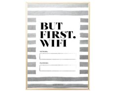 But First, Wifi                                                                                                                                                                                 More