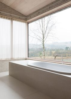 World-famous architect John Pawson was commissioned by Living Architecture to design Life House - a luxury modern-day retreat in Rural Wales.
