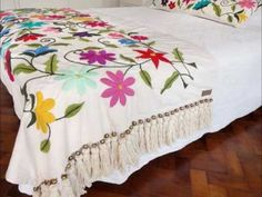 YouTube Hand Embroidery, Comforters, Outdoor Blanket, Homemade, Bed, Furniture, Home Decor, Google, India