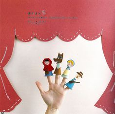 """Stage - i like the idea of a fixed """"curtain"""" bc real ones always seem to be in the kids' way!"""