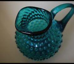 Amber Glass Hobnail. Follow me, on.fb.me/Po8uIh
