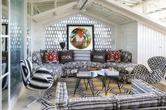 News and Trends from Best Interior Designers Arround the World Room Interior Design, Best Interior, Swan Chair, Mirror Ceiling, Living Room Designs, Living Rooms, Cool Designs, Sweet Home, Sofa