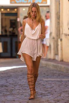 Kimberley Garner in St Tropez Beautiful Taylor Swift, Taylor Swift Hot, Taylor Swift Style, Taylor Swifr, Taylor Swift Bikini, Moda Fashion, Womens Fashion, Greek Dress, Kimberley Garner