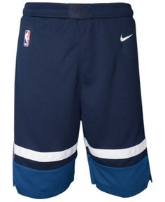 Nike Minnesota Timberwolves Icon Swingman Shorts, Big Boys - Blue S