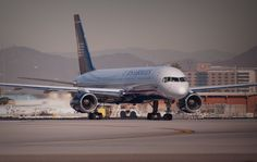US Airways 757 in PHX