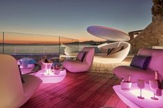 Gallery   Kouros Boutique Hotel and Spa in Mykonos Hotel Suites, Egg Chair, Mykonos, Spa, Lounge, Restaurant, Boutique, Gallery, Sunsets