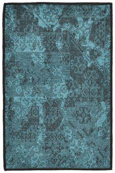 Aquae blue area rugs
